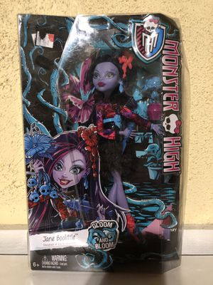 Jane Boolittle - Gloom and Bloom - Monster High for Sale in Enid, OK