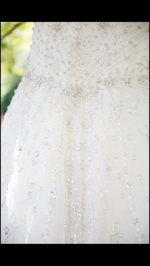 Gorgeous Sparkly Wedding Dress with Veil for Sale in Philadelphia, PA