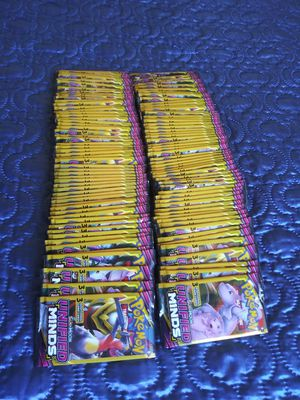 POKEMON SUN & MOON UNIFIED MINDS 3 CARD BOOSTER PACKS BRAND NEW & FACTORY SEALED!!! for Sale in Pomona, CA