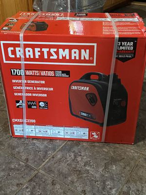 Craftsman Generator Brand new for Sale in Peoria, IL