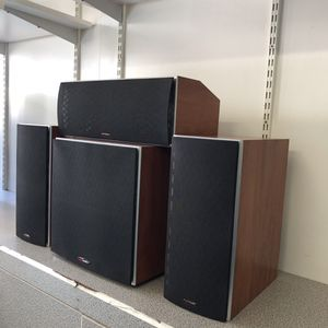 Polk Audio Powered Subwoofer with Speakers surround sound Pawn Shop Casa de Empeño for Sale in Vista, CA