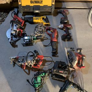 Tools, Saws, Exc for Sale in Phoenix, AZ
