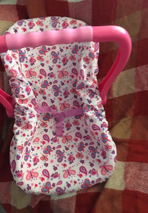Baby doll car seat for Sale in West Sacramento, CA