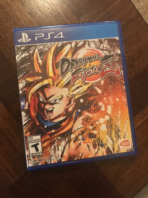 Dragon Ball Fighter Z PS4 for Sale in Phoenix, AZ