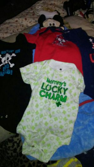 Misc baby clothes & diapers for Sale in Croydon, PA