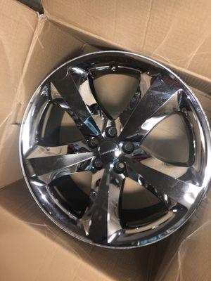 Dodge Challenger OE Chrome Wheel Rims (set of 4) for Sale in Katy, TX
