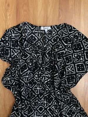 WMNS MADEWELL African Print Oversized Tunic Blouse for Sale in Alameda, CA