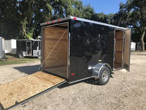 6x12SA Enclosed Trailer Cynergy Basic Series @ Brothers Trailer for Sale in Tampa, FL