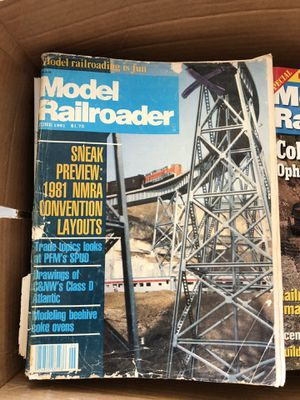 FREE Model Railroader Magazines 80-90s for Sale in Santa Ana, CA