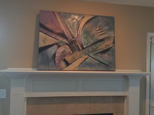 Contemporary oil painting on canvas for Sale in Peoria, IL