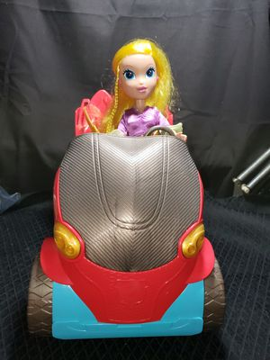Super hero girl vehicle & doll (doll is not a super girl) for Sale in Zanesville, OH