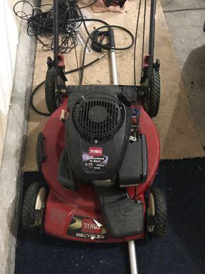 Toro lawn mower easy start for Sale in Nashville, TN