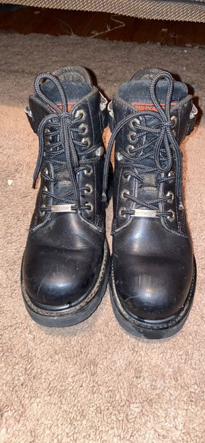 Harley Davidson woman's boots for Sale in Fuquay-Varina, NC