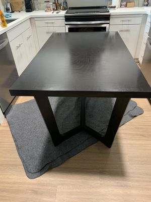 Abbyson Living Manning Espresso Finish Dining Table for Sale in San Jose, CA