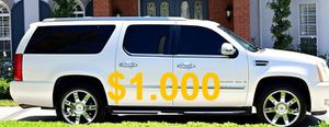 ❤️$1,000 sell my family 2008 Cadillac Escalade 🔥🙏 for Sale in Bridgeport, CT
