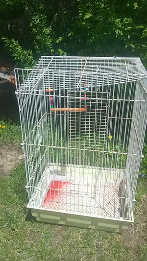 """Bird cage 2'5"""" tall must go today for Sale in West Mifflin, PA"""