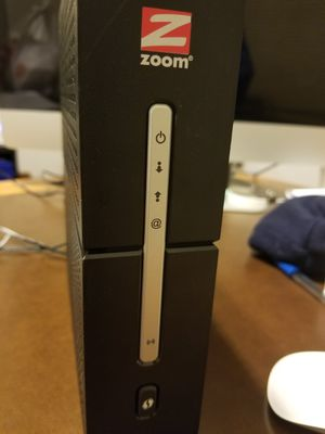 Zoom modem/router for Sale in Shorewood, IL