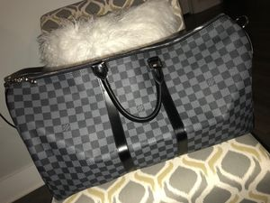 Louis Vuitton Black Travel bag for Sale in Nashville, TN