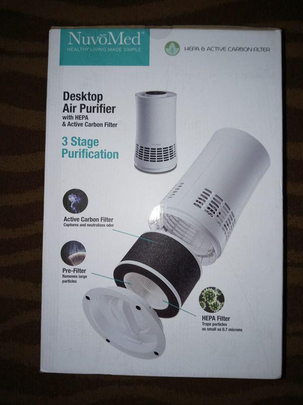 NuvoMed Desktop HEPA Air Purifier
