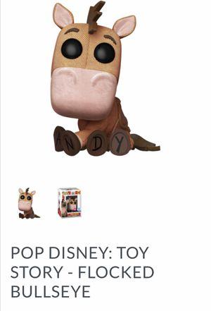 Toy story- FLOCKED BULLSEYE FUNKO POP for Sale in Annandale, VA