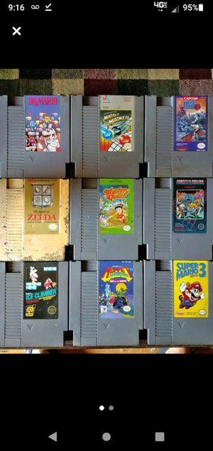 17 Original NINTENDO NES games for Sale in Port Clinton, OH