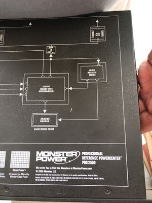 Monster professional power center. PRO 2500 for Sale in Wheat Ridge, CO
