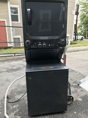 GE- 3.8cu ft 11 cycle Washer& 5.9cu ft Electric Dryer for Sale in Brockton, MA