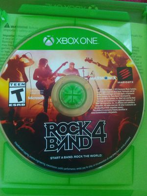 Rock band 4 full set (cash only) for Sale in Pekin, IL
