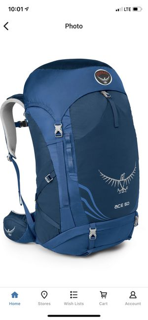 Osprey Ace 50 Kid's Backpacking Pack for Sale in San Diego, CA