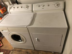 Kenmore washer and gas dryer set for Sale in Los Angeles, CA