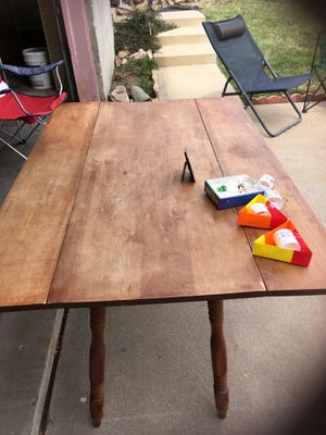 Wooden Table for Sale in Denver, CO