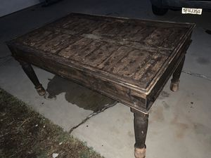 Heavy Vintage Wood Table for Sale in Anaheim, CA