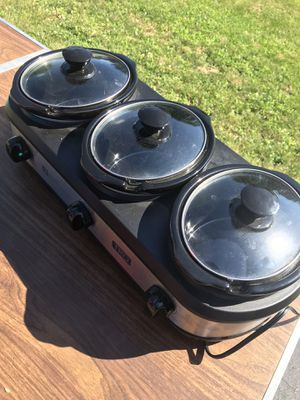 Crock pot trio for Sale in Mount Holly Springs, PA