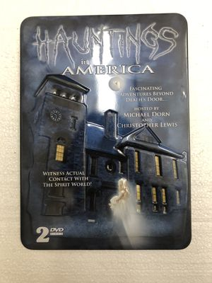 Hauntings in America two disc DVD set, open box for Sale in Artesia, CA