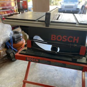 Bosch 10inch Table Saw for Sale in Los Altos Hills, CA