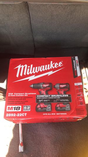 2 brand new Milwaukee drill sets for Sale in Austin, TX
