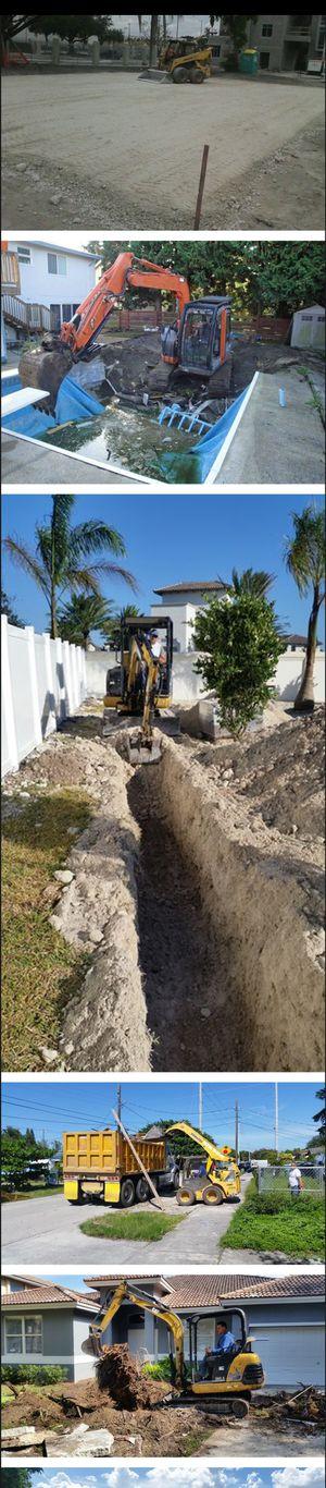 dump truck excavator skid steer bobcat servis for Sale in Hallandale Beach, FL