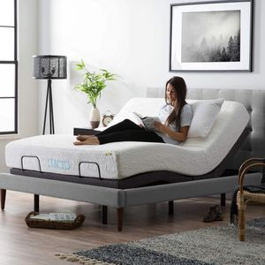Full Adjustable Bed Base Set! Wireless Remote, Dual Massage, Dual USB Port, Multi Position, Memory Position, Underbed Lighting for Sale in Phoenix, AZ