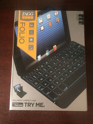 ZAGG Folio Case for Apple iPad Mini (Keyboard) for Sale in Bend, OR