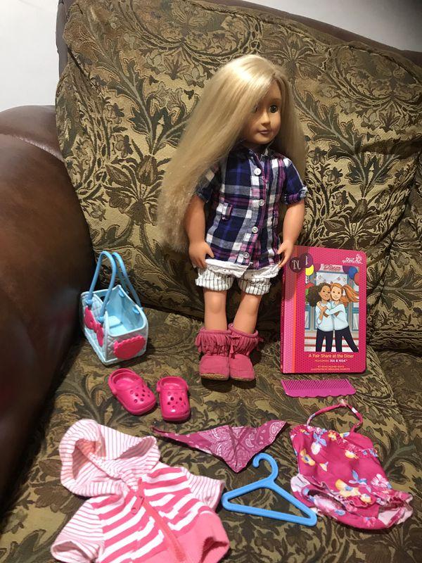 OG doll with long beautiful hair