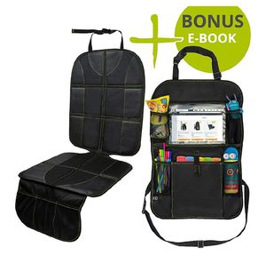 Car Seat Protector + Backseat Organizer for Sale in Charlotte, NC