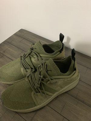 Olive Puma shoes. Men's size 10 for Sale in Nashville, TN