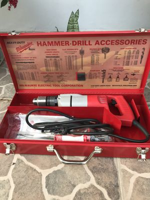Milwaukee heavy duty hammer drill for Sale in Sunrise, FL