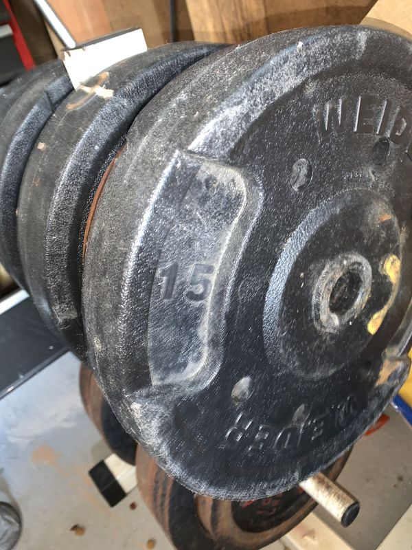 Lots of Weights 5, 10, 15, 20, 25