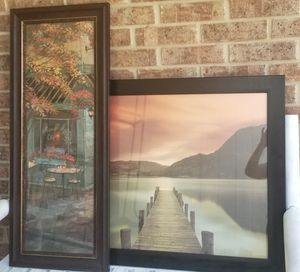 2 Large Picture Frames for Sale in San Antonio, TX