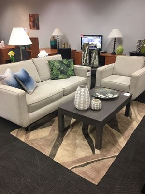 Beige Sofa and chair set for Sale in Tulsa, OK