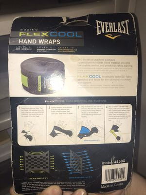 Everlast Flex Cool Hand Wraps for Sale in Lakeland, FL