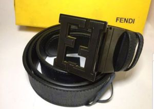 Fendi Reversible Dark Blue/ Black Leather Belt Authentic for Sale in Queens, NY