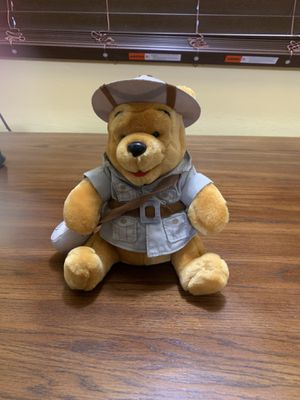Winnie the poo scout plushie for Sale in Fort Pierce, FL