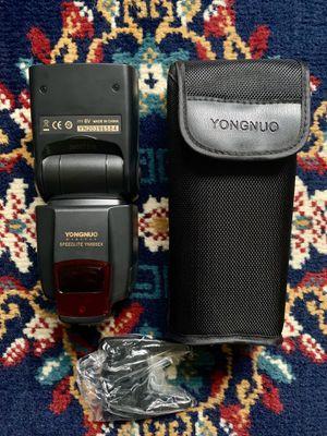 Yongnuo YN-565EX I-TTL speedlight flash for Nikon for Sale in San Diego, CA